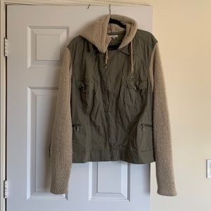 Maurice's cargo jacket sweater